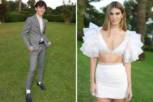 Ross Lynch y Bianca Brandolini modelos de la colección de edición limitada Giambattista Valli x H&M.