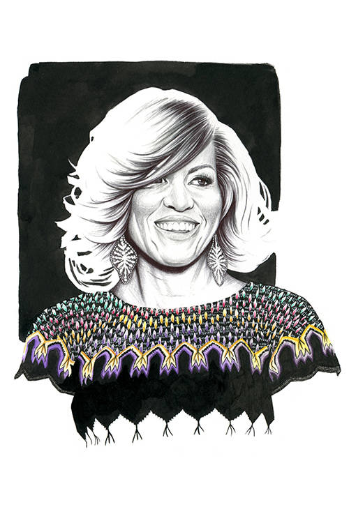Michelle Obama by Florian Meacci.