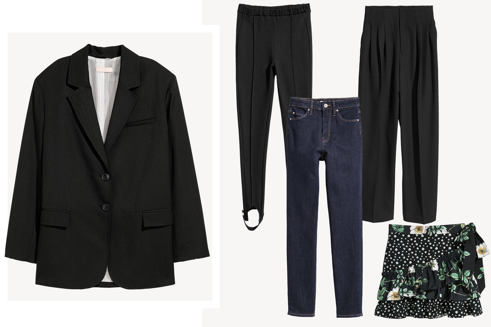 What to wear with: the oversized blazer