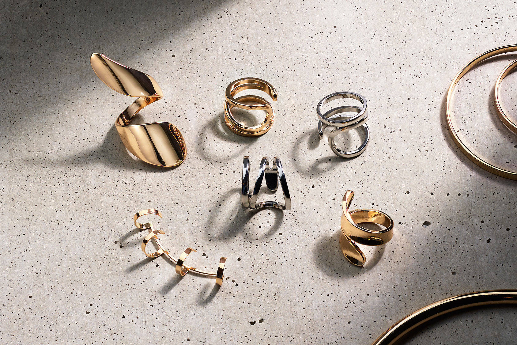 The new jewellery shapes
