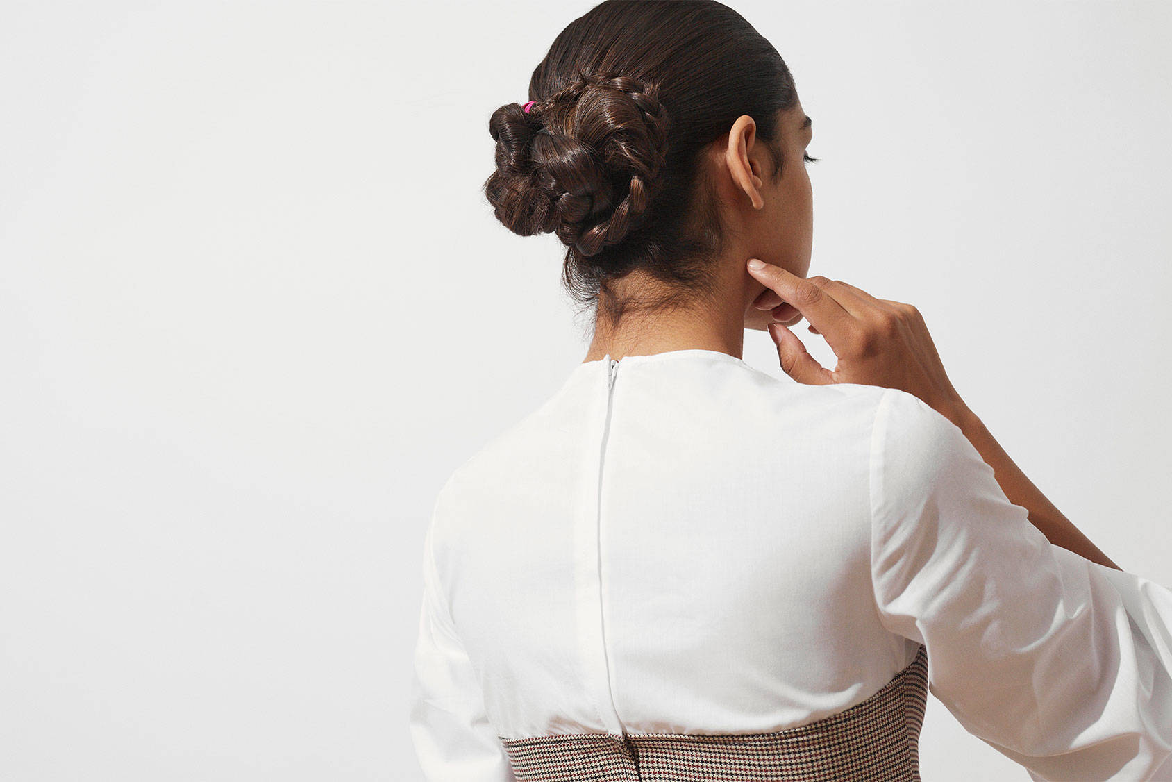 How to succeed with the braided-updo