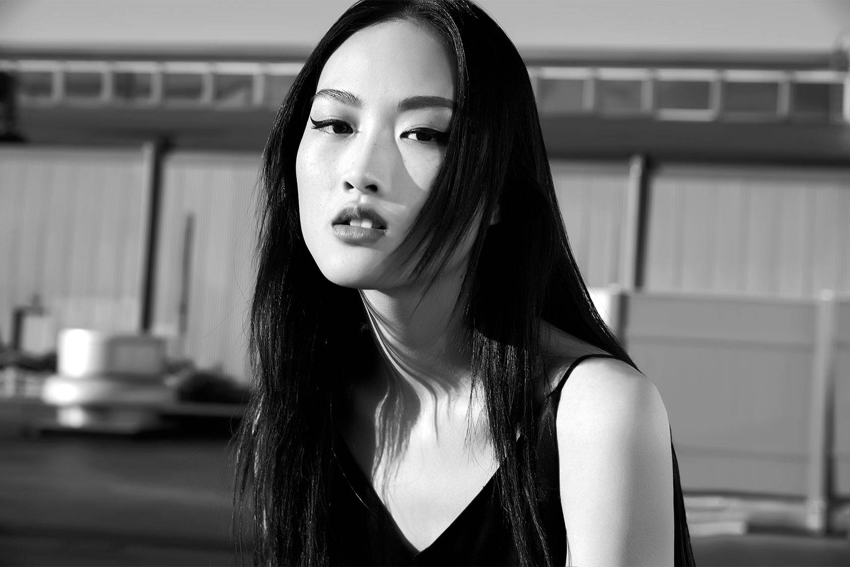 Chinese beauty Jing Wen