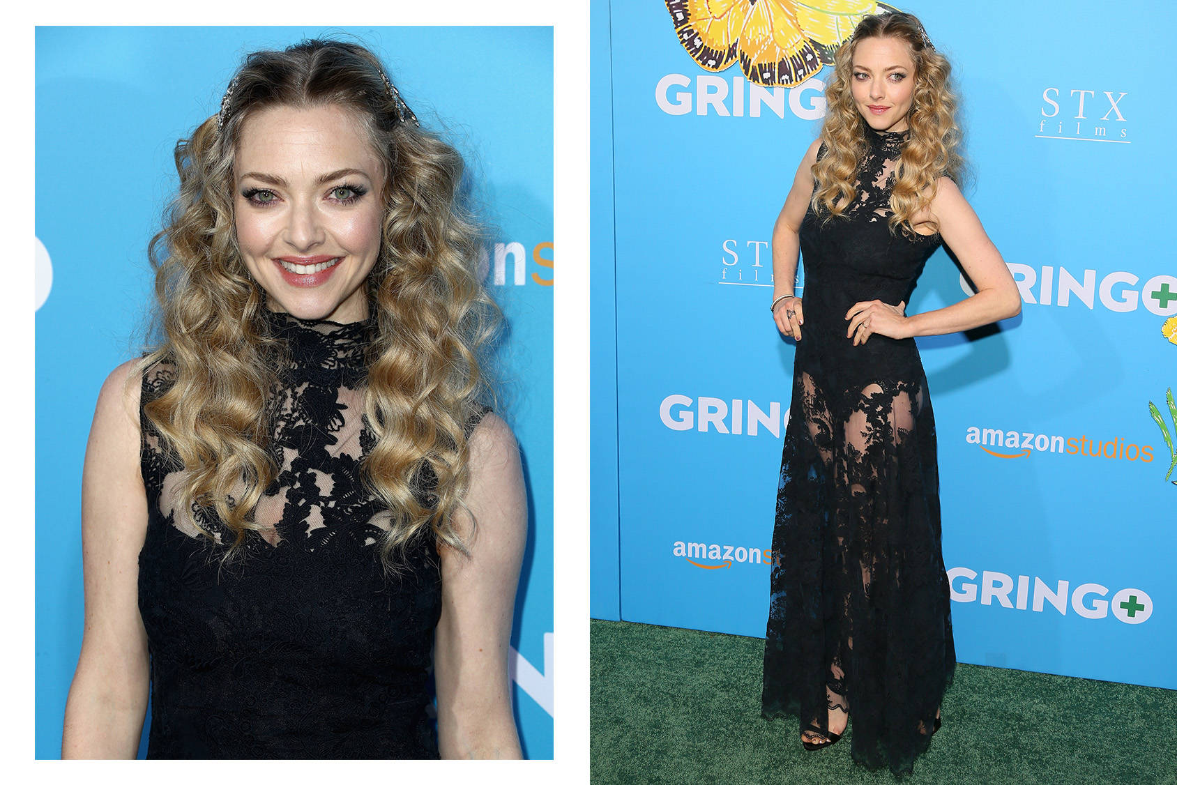 Amanda Seyfried in custom Conscious Exclusive look
