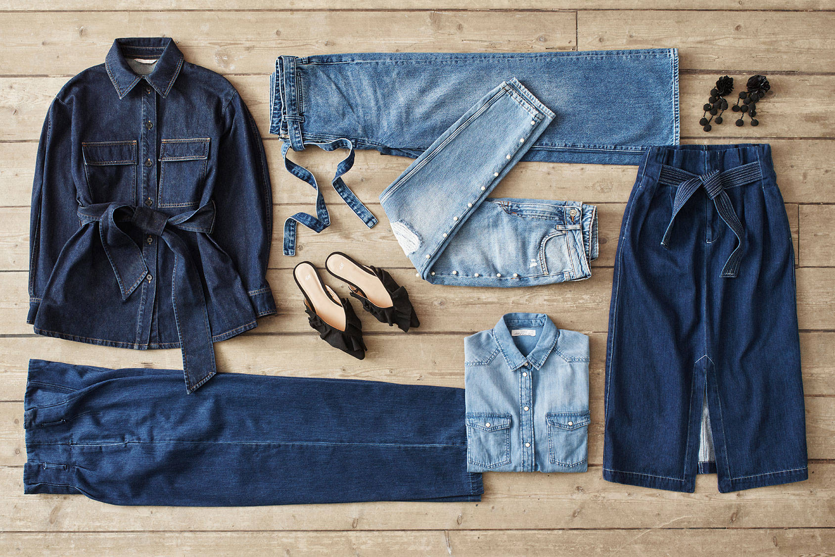The New Denim Silhouette