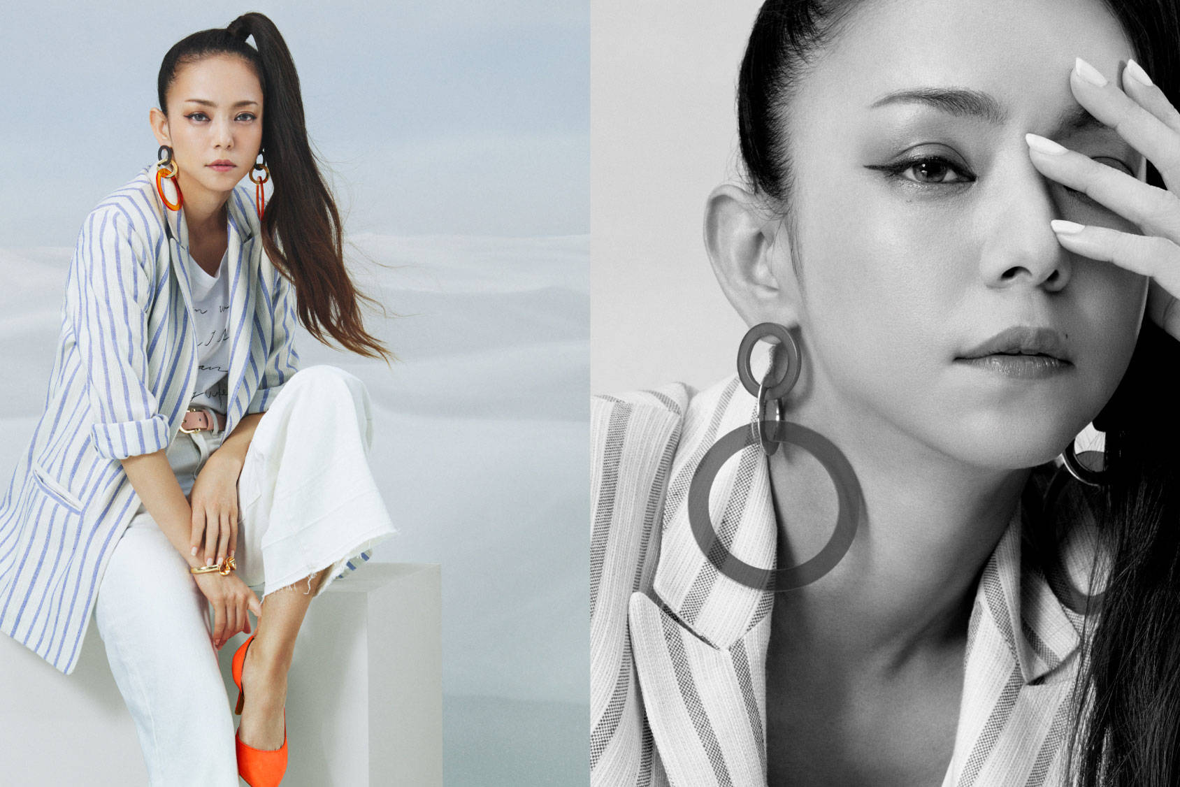 Announcing the release of all Namie Amuro x H&M campaign images!