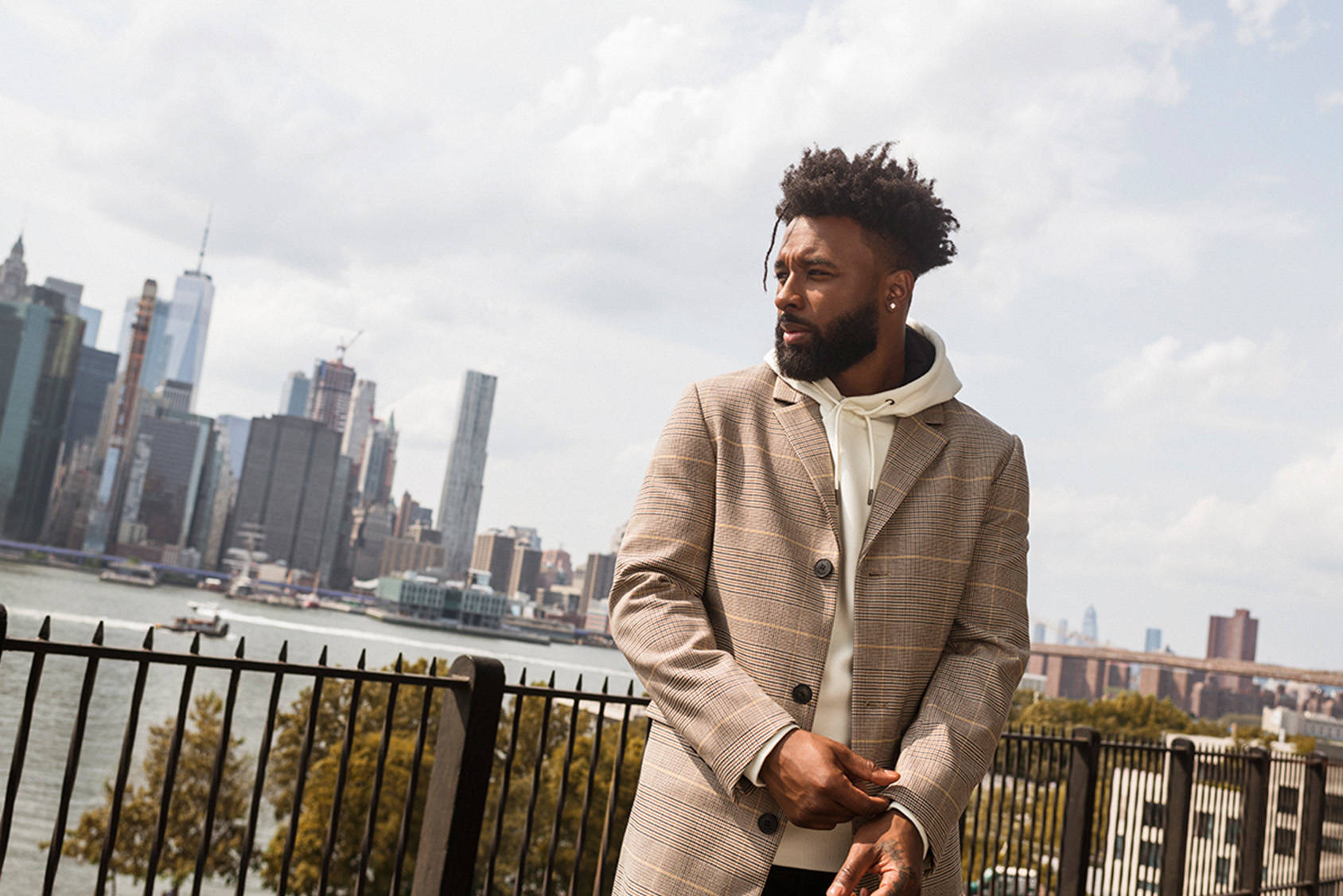 H&M Fall Fashion Trends with Jarvis Landry