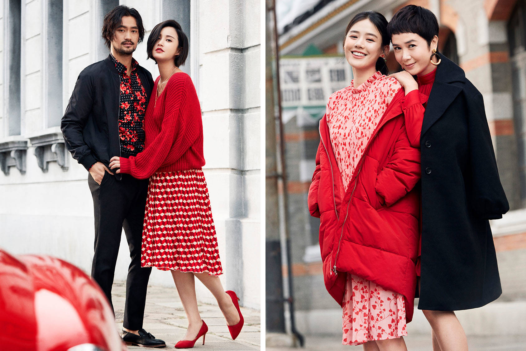 H&M is coming home for CNY with Ma SiChun, Jiang Wenli Yuan Hong and Zhang Xinyi