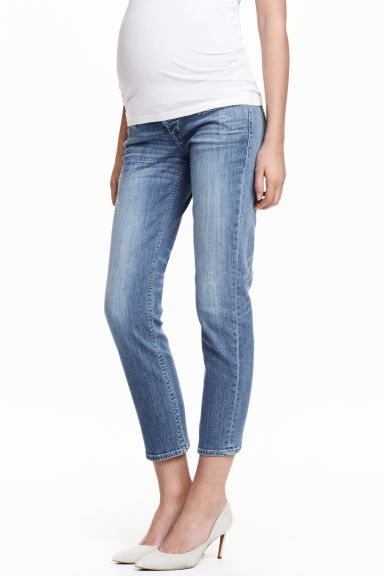 MAMA Girlfriend Jeans - Denim blue - Ladies | H&M GB