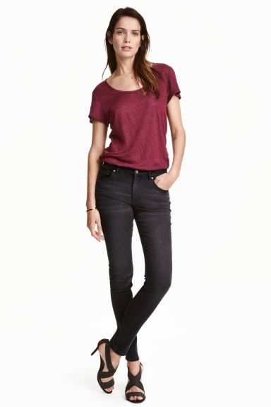 Superstretch trousers - Nearly black - Ladies | H&M GB