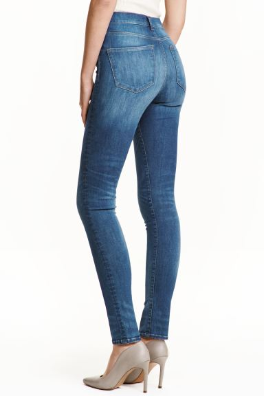 Shaping Skinny High Jeans - Azul denim - SENHORA | H&M PT
