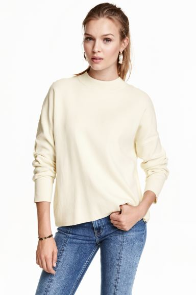 Turtleneck jumper - Natural white - Ladies | H&M GB