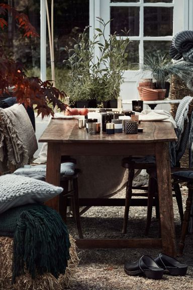Couverture douce - Taupe - Home All | H&M CA
