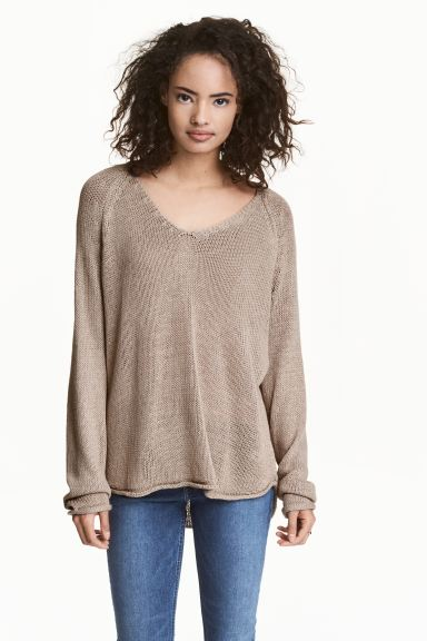 Knitted jumper - Mole - Ladies | H&M GB