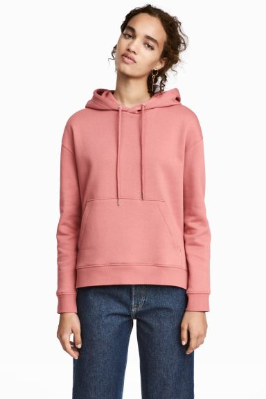 Hooded top - Vintage pink - Ladies | H&M GB