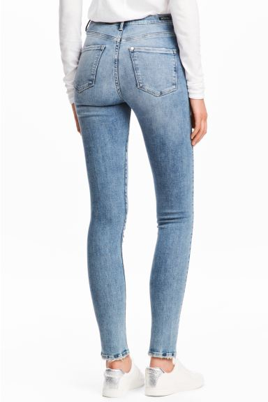 Shaping Skinny High Jeans - Licht denimblauw - DAMES | H&M BE
