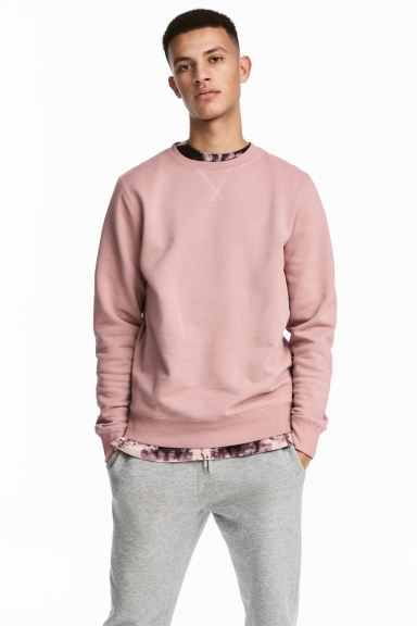 Sweat - Rose pâle - HOMME | H&M FR