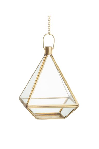 Hanging planter - Gold - Home All | H&M IE