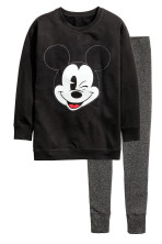 Black/Mickey Mouse