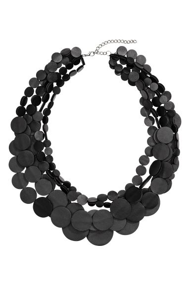 Multistrand necklace - Black - Ladies | H&M GB