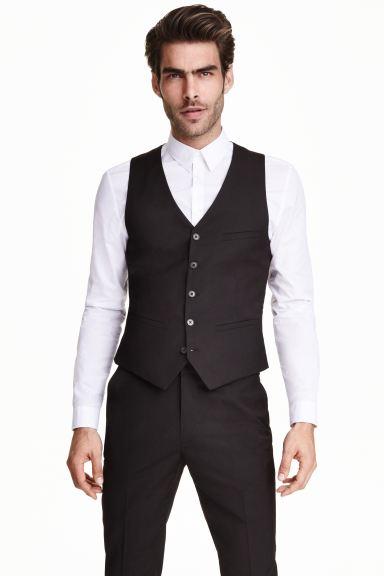 Vestiti Eleganti Hm Uomo.Gilet Elegante Nero Uomo H M Ch