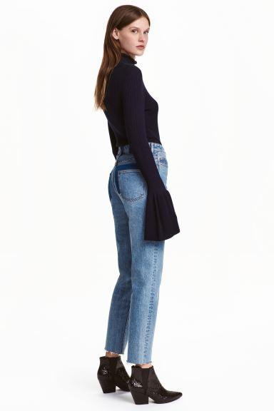 Jeans High Waist - Denim blue - Ladies | H&M GB