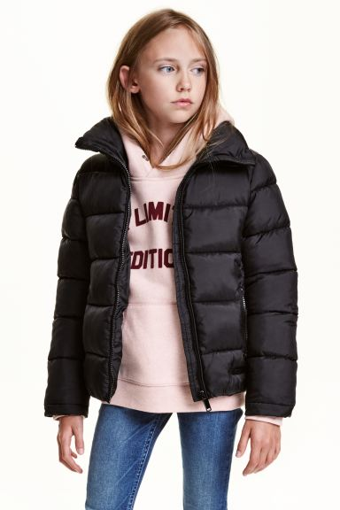 Quilted jacket - Black - Kids | H&M GB