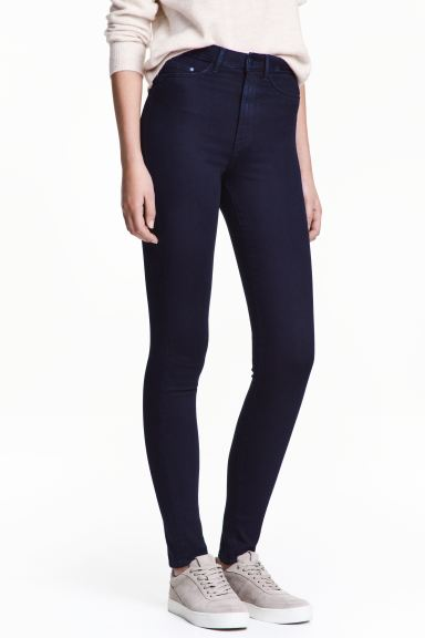 Super Skinny High Jeggings - Blue-black - Ladies | H&M IE