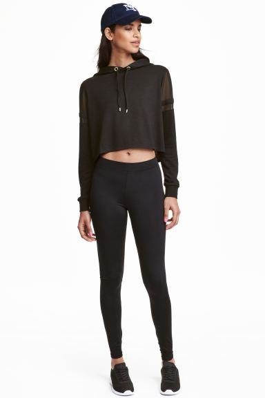 Jersey leggings - Black - Ladies | H&M GB