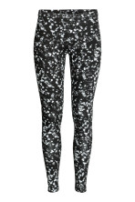 Jersey Leggings Black Ladies H M Us