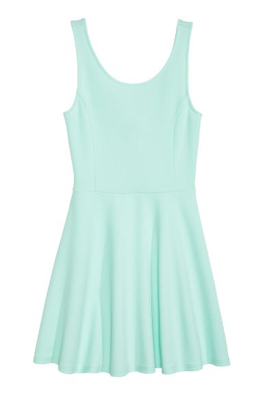 Sleeveless dress - Mint - Ladies | H&M IE