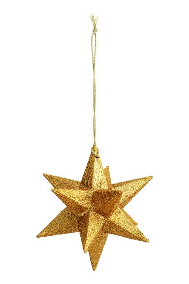 Star Christmas decoration - Gold - Home All | H&M GB