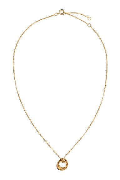 Necklace with a pendant - Gold - Ladies | H&M GB