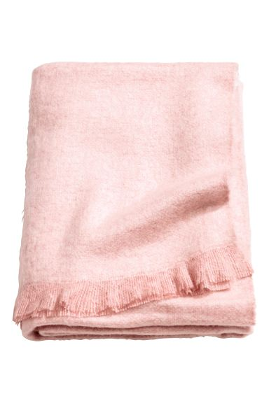 Soft blanket - Dusky pink - Home All | H&M GB