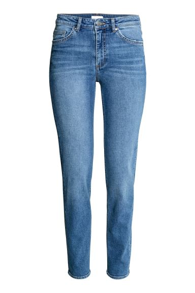 Slim Regular Jeans - Azul denim/Lavado - SENHORA | H&M PT