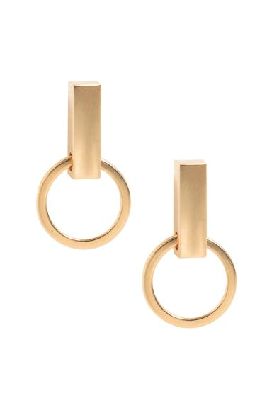 Gold-plated earrings - Gold - Ladies | H&M GB
