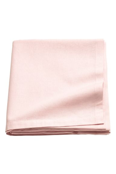 Nappe en coton - Rose clair - Home All | H&M FR