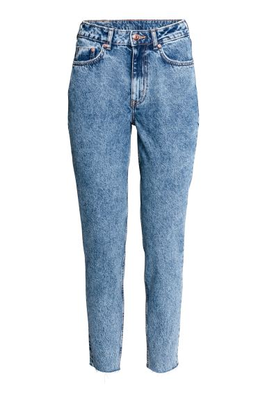 Slim Mom High Ankle Jeans - Deniminsininen - NAISET | H&M FI