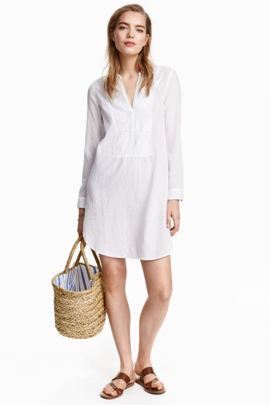 Straw bag - Natural - Ladies | H&M GB