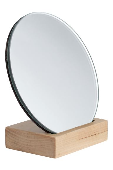 Miroir rond - Naturel - Home All | H&M FR