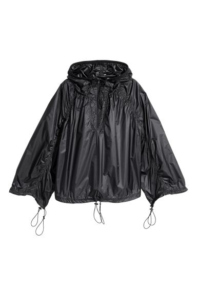 Anorak in nylon - Nero - DONNA | H&M IT