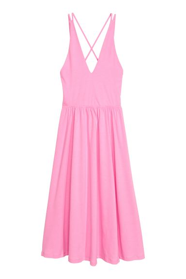 V-neck dress - Pink - Ladies | H&M GB