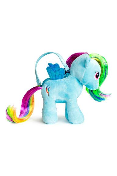 Borsetta a forma di peluche azzurro my little pony bambino h m it - Letto a forma di peluche ...
