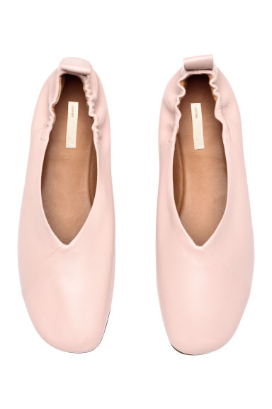 Ballet shoes - Powder pink - Ladies | H&M GB