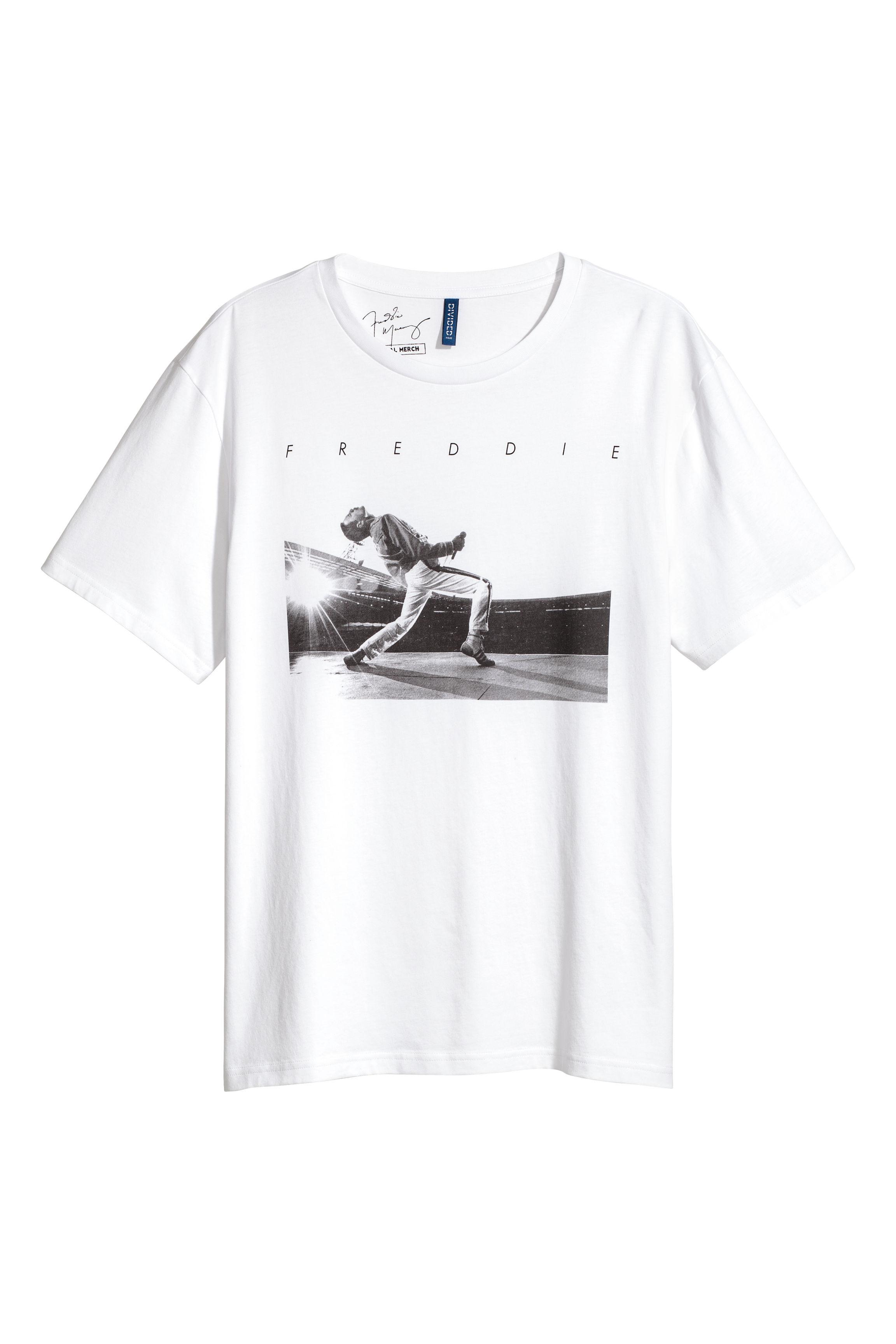 Koszulka z Freddiem w H&M
