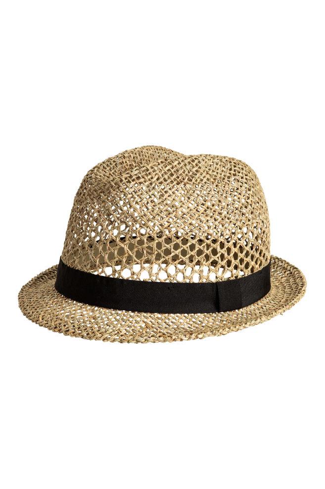 Stråhatt - Natur - HERR | H&M SE 1