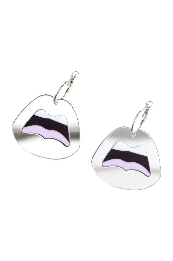 Stora örhängen - Silver - DAM | H&M SE 1