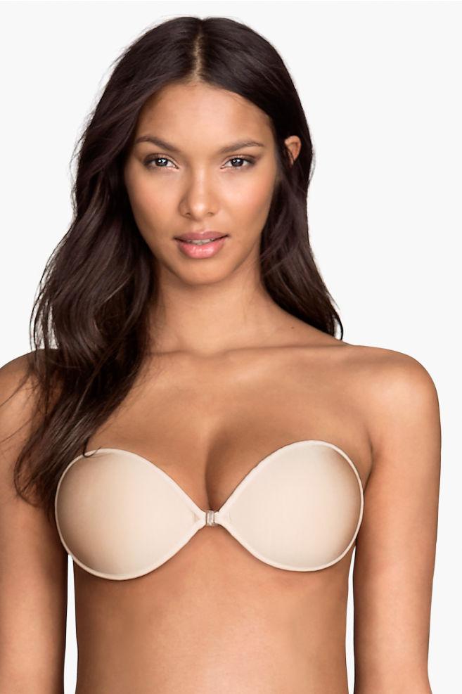 8ccac762df Öntapadós melltartó - Világosbézs - NŐI | H&M ...