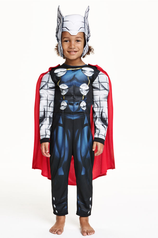 d1ce225d0ddd6 Kostium superbohatera - Czarny/Thor - Dziecko | H&M ...