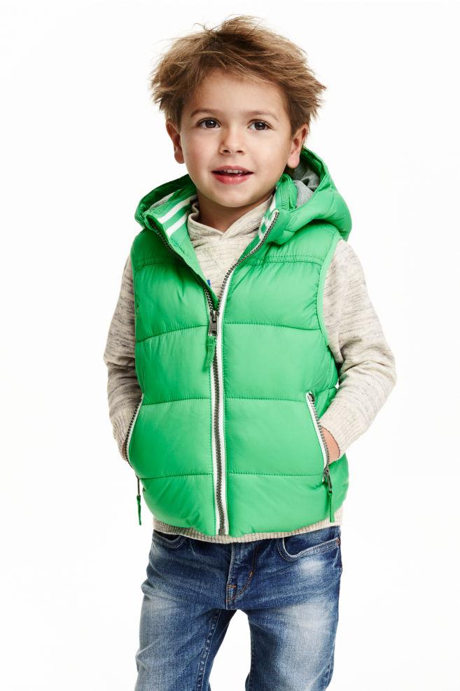 fbfebb8317 Steppelt mellény - Zöld - GYEREK   H&M ...