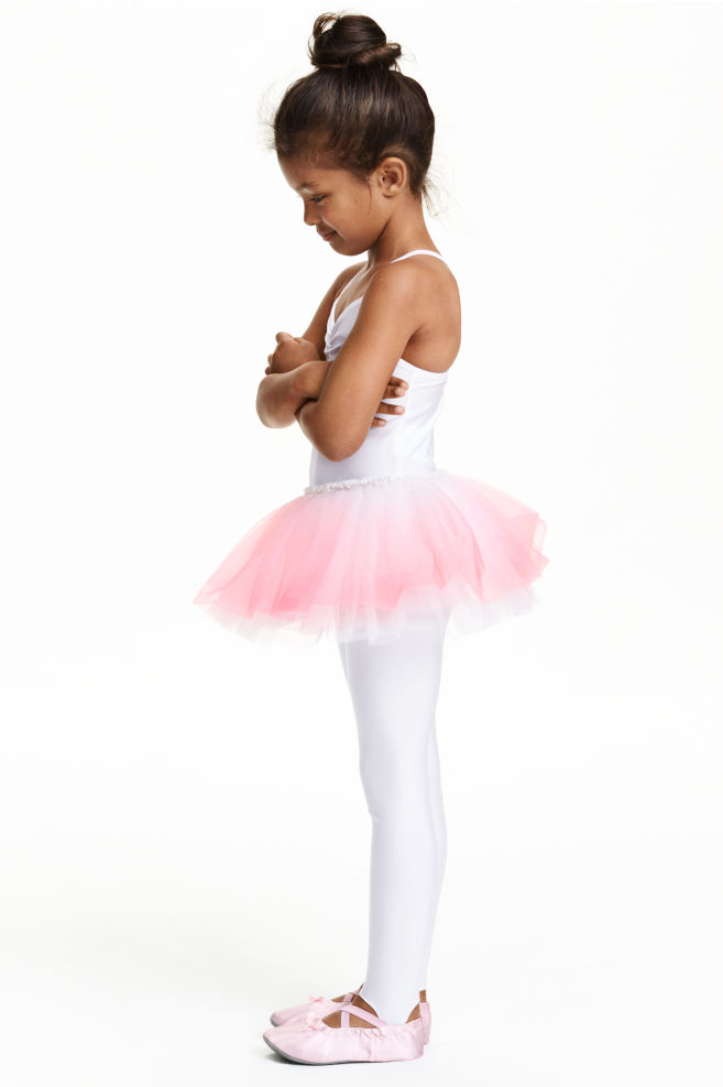 4e35c0a4afaf Ballet dress - White/Light pink - Kids | H&M ...